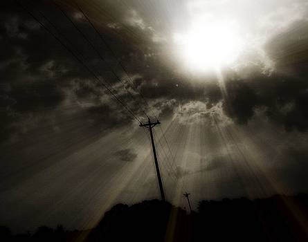 Sun rays by Trisha Scrivner
