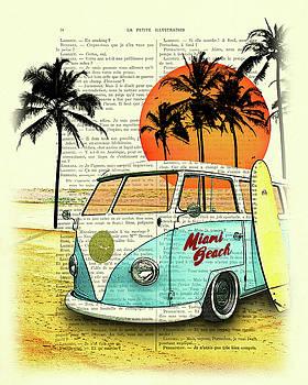Sun sea beach and fun by Madame Memento