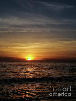 Sun Set Away by Fei A