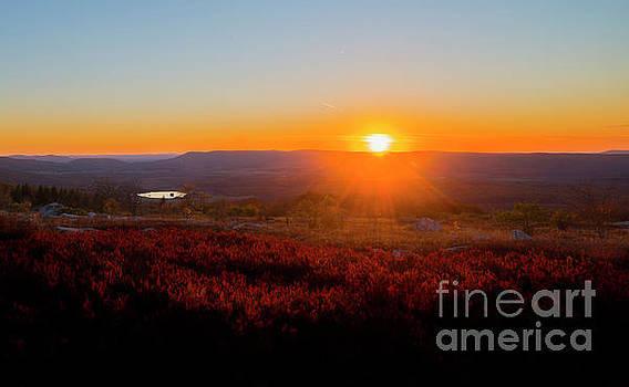 Dan Friend - Sun setting over Canaan Valley