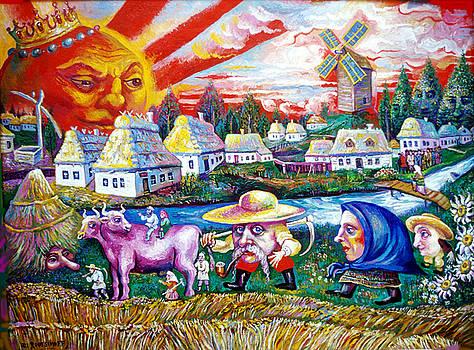 Ari Roussimoff - Sun Shines Over Ukraine