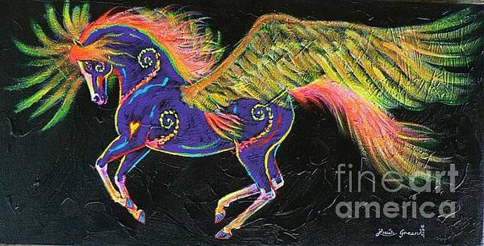 Sun Spirit Pony by Louise Green