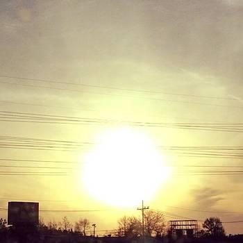 #sun #sunset #clouds #sky #nature #like by Shyann Lyssyj