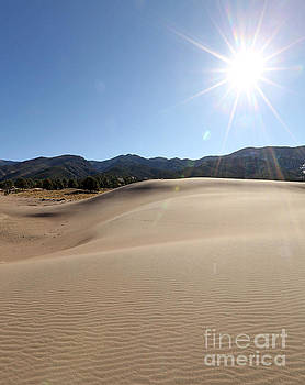 Sun up at Great Dunes National Park by Betty Morgan