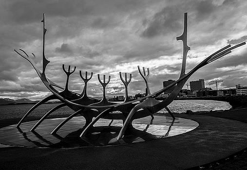 Venetia Featherstone-Witty - Sun Voyager, Reykjavik, Iceland