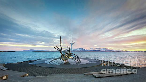 Sun Voyager Sculpture, Reykjavik by Jerry Fornarotto