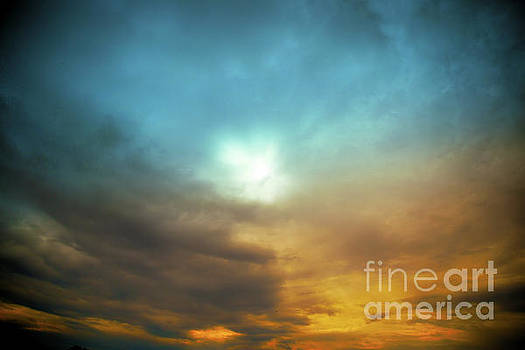 Sun With Rays by Aleksey Tugolukov