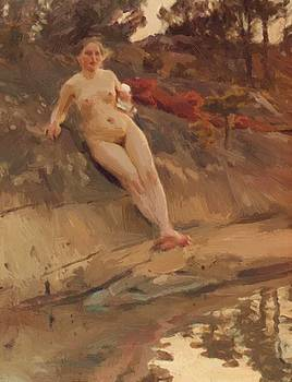 Zorn Anders - Sunbathing Girl