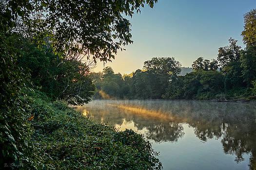 Sunbeam on Water by Brian Shepard
