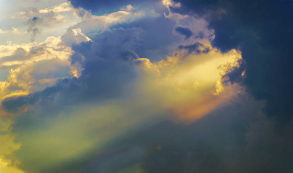 Sunbeams In A Stormy Sky by Brian Wallace