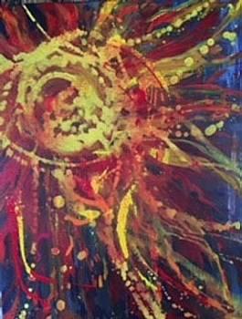 Sunburst by Debbie Frame Weibler