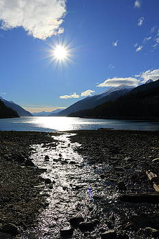 Sunburst Over Long Bay by Kimberly VanNostrand