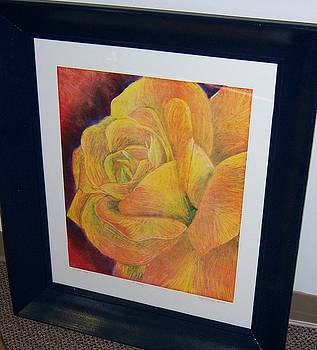 Sunburst Rose by Emily Young