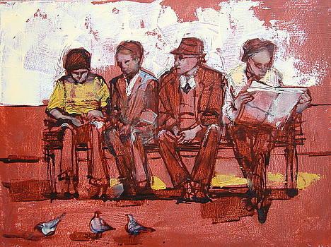 Sunday afternoon by Alida Bothma