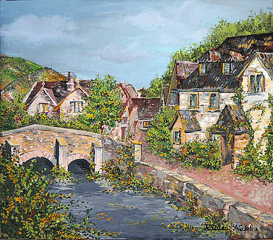 Sunday Afternoon at Castle Combe by Raluca Nedelcu