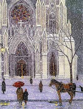 Sunday at Saint Patricks Cathedral by Patrick Antonelle