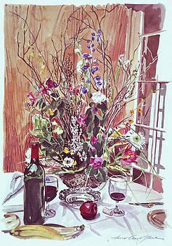 Sunday Brunch  by David Lloyd Glover