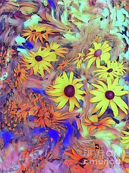 Sunday flower by Susanne Baumann
