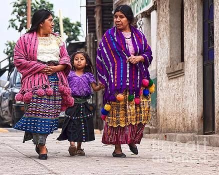 Tatiana Travelways - Sunday morning in San Marco, Guatemala