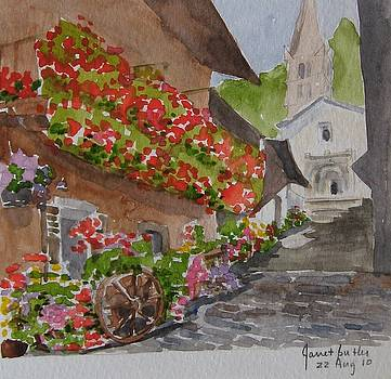 Sunday morning northern Italy by Janet Butler
