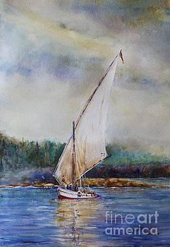 Sunday Sail by Joyce A Guariglia