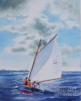 Sunday Sail by Karol Wyckoff