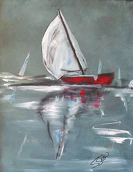 Sunday Sail by Susan Snow Voidets