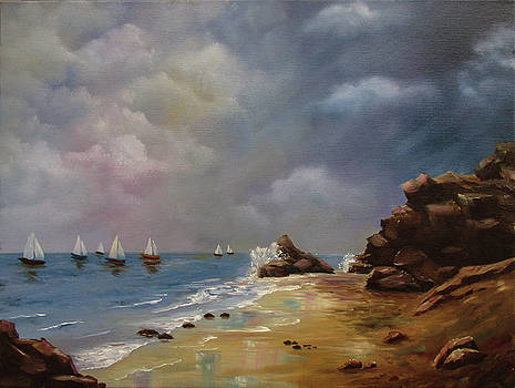 Sunday Sailing by Debra Dickson
