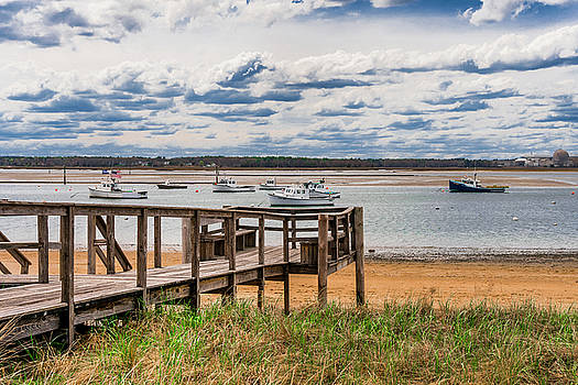Sundays In The Harbor - Seabrook, NH  by Devin LaBrie