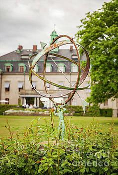 Sophie McAulay - Sundial in park