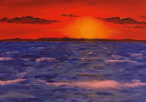 Sundown by Al Pascucci