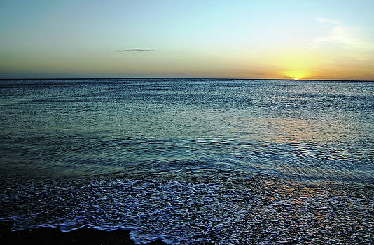 Sundown At Manasota Key by Debbie Oppermann