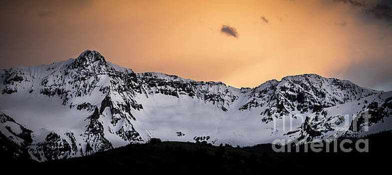 Sundown at Sneffels Range by The Forests Edge Photography - Diane Sandoval