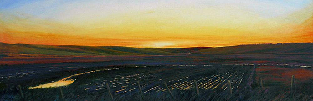 Sundown near Moscow by Leonard Heid