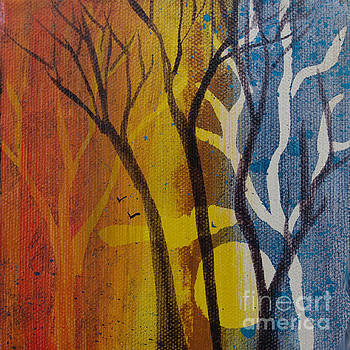 Sundown Through Trees by Robin Maria Pedrero