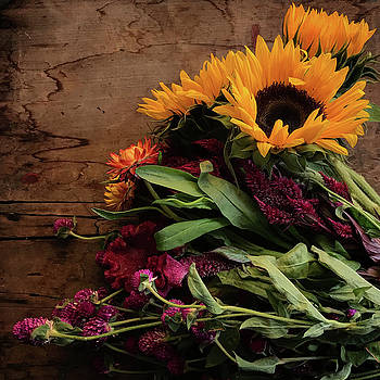 Sunflower Bouquet by Kelly Lucero