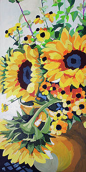 Sunflower Bunch by Melinda Patrick