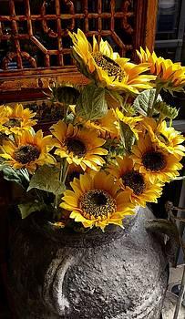 Sunflower Celebration by Randy Bell