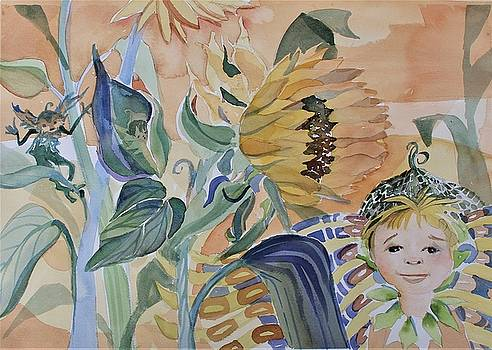 Sunflower Fairy by Mindy Newman