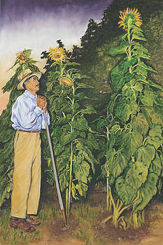 Sunflower Farmer by Maria Gibbs