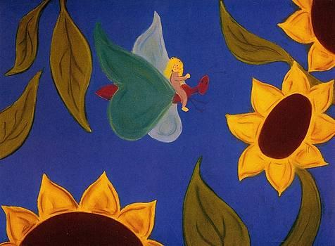 Sunflower Flight by Christine Crosby