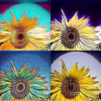 Sunflower fun by Alyson Innes