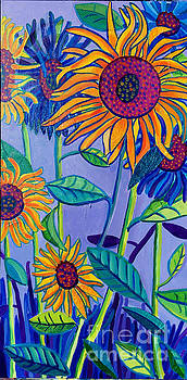 Sunflower Garden by Debra Bretton Robinson