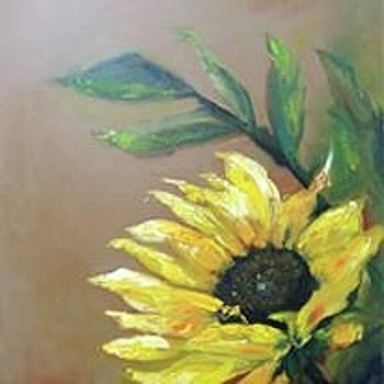 Sunflower II by Debbie Frame Weibler
