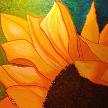Sunflower II by Tina Mostov