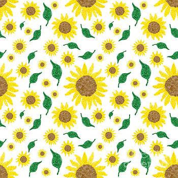 Sunflower Medley by Diane Macdonald
