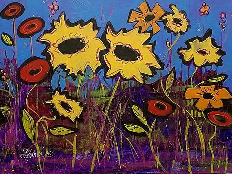 Sunflower Medley by Terri Einer