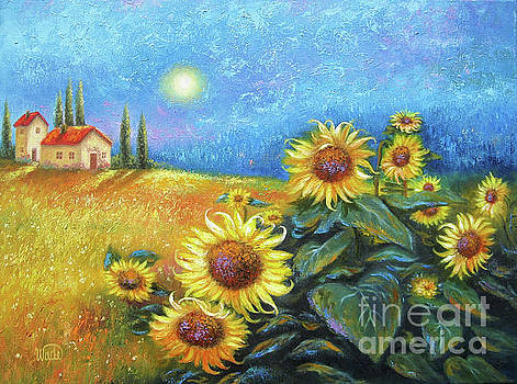 Sunflower Moon by Vickie Wade
