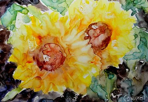 Sunflower Promenade by Terri Cowart