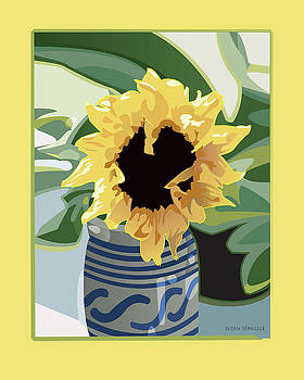 Sunflower by Susan Spangler